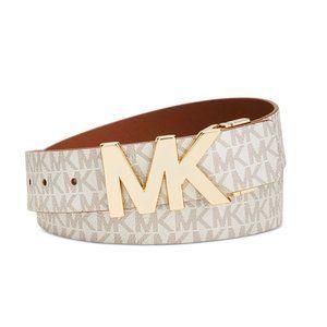 NWT Michael Kors Twist Reversible Belt Med…